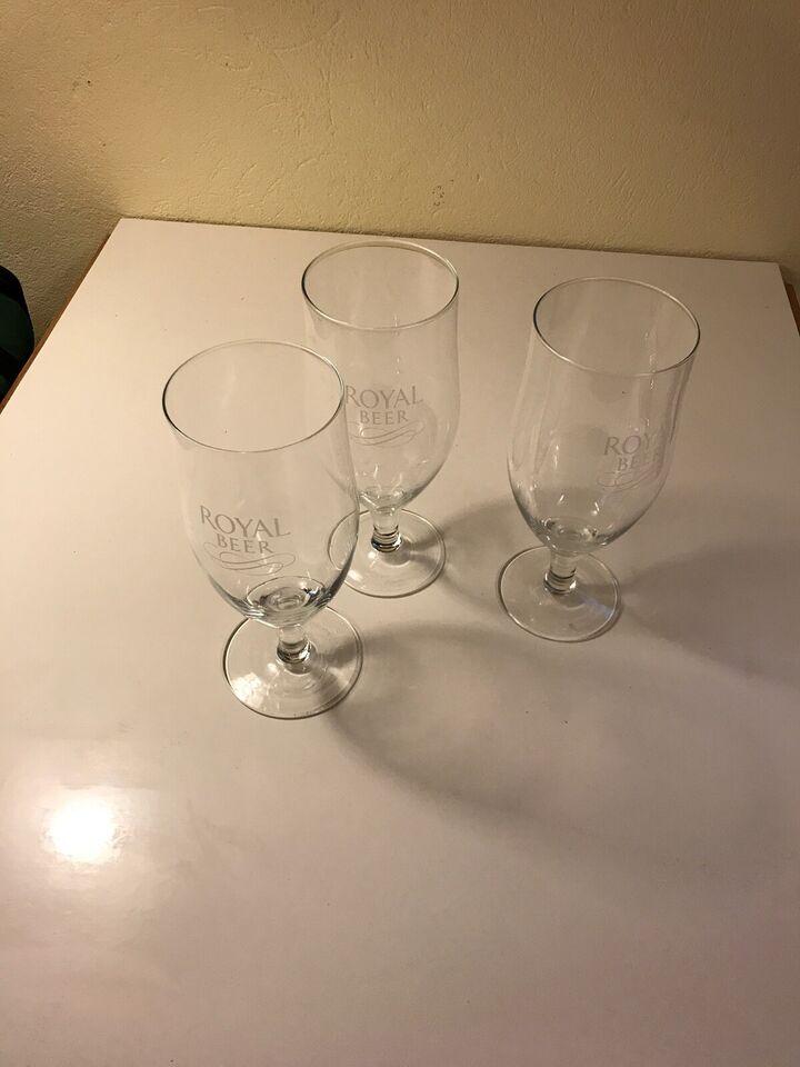 Glas, Ølglas, Royal Beer