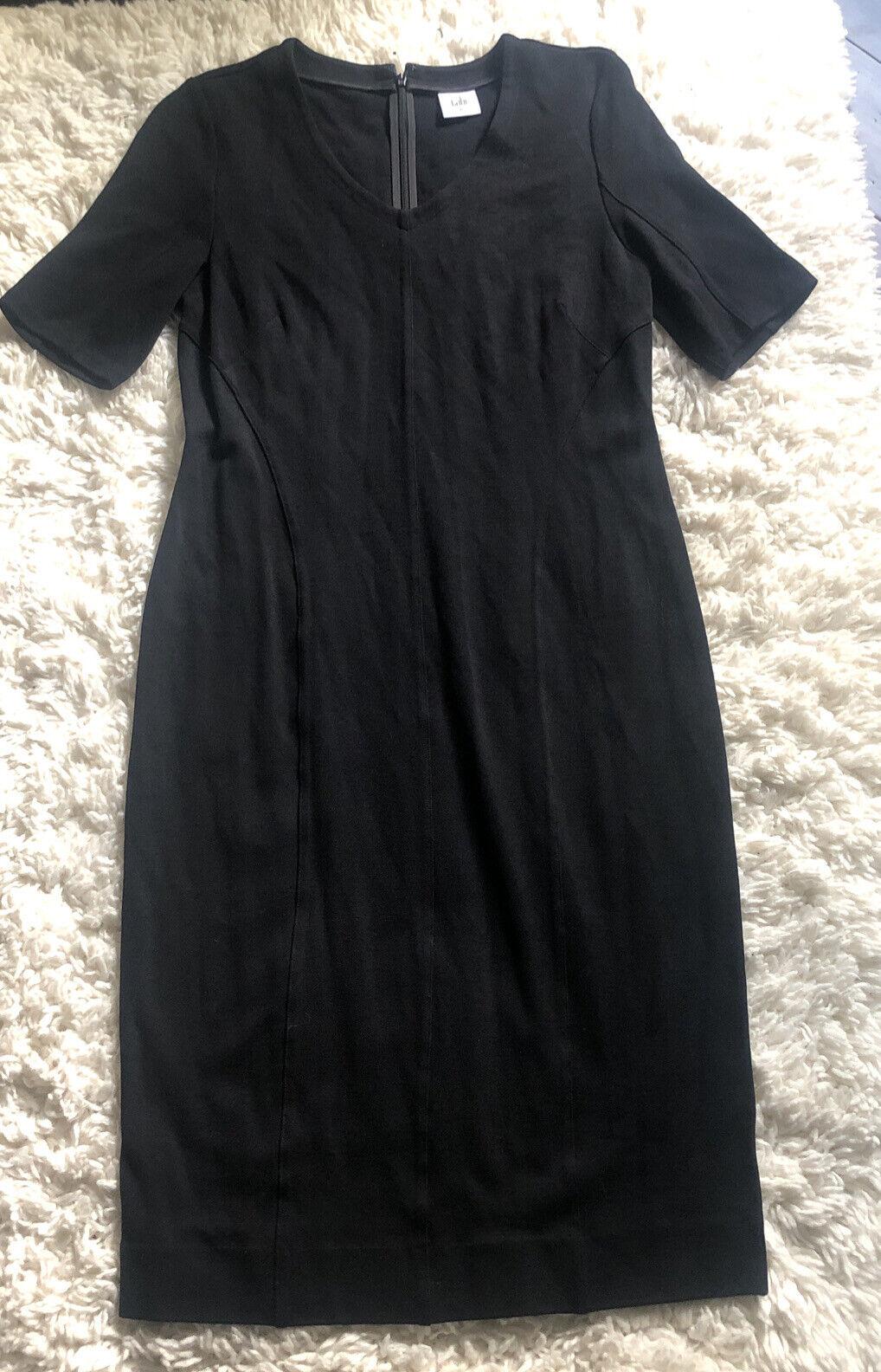 Cabi Claire Modern Sheath Dress q Black Ponte Kni… - image 2