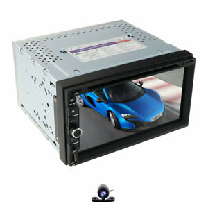 7-034-HD-Car-DVD-CD-Player-GPS-Double-2-DIN-Stereo-Radio-Head-Unit-Free-Map-Camera