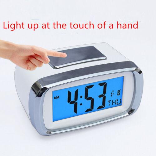 Digital LED Alarm Clock Bedsides Snooze Clock Calendar