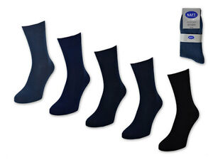 30-Paia-Calzini-Uomo-100-Cotone-Senza-Cuciture-Business-Calze-da-Uomo-Blu-Jeans
