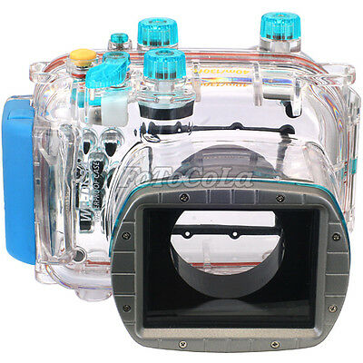 40M waterproof underwater camera housing case cover for Canon powershot G11 G12