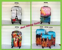 3pc Set Luggage Ultra Light Spinner Designer Travel Suitcase Hard Case Tsa Lock