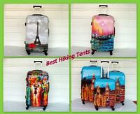 3pc Set Luggage Ultra Light Spinner Designer Travel Suitcase Hard Case Tsa Lock