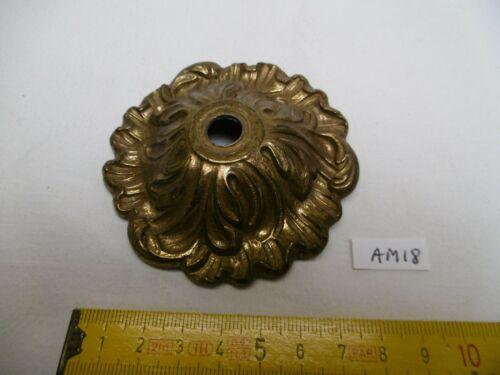Cache douille coupelle en bronze H AM18 19 mm Ø 82 mm trou central de 10 mm