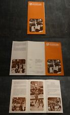 RARE 1968 MEXICO OLYMPIC GAMES OFFICIAL EVENT INFORMATION BROCHURE, VOLLEYBALL