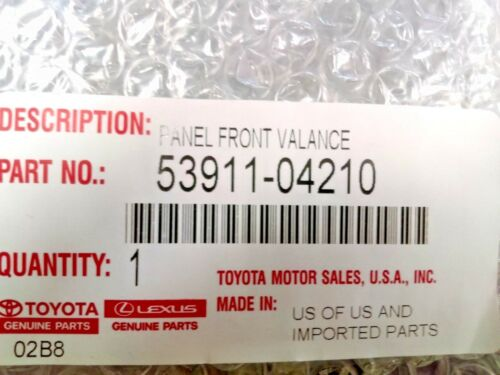Toyota Tacoma 2016-2020 Front Bumper Valance Panel Genuine OE OEM