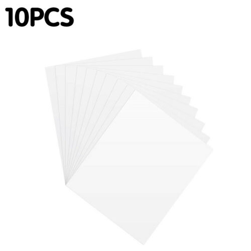 Puzzle Glue Peel Large Clear Puzzle Glue Sheets Transparent Adhesive Backing