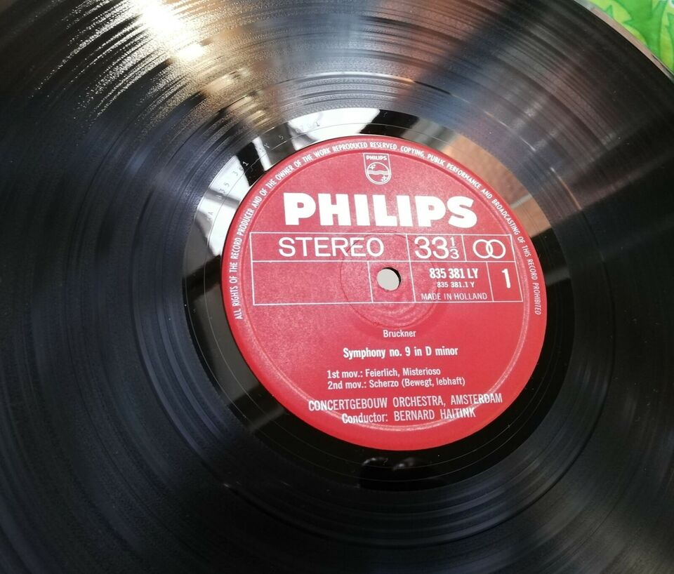 LP, Bruckner, Symfoni nr. 9