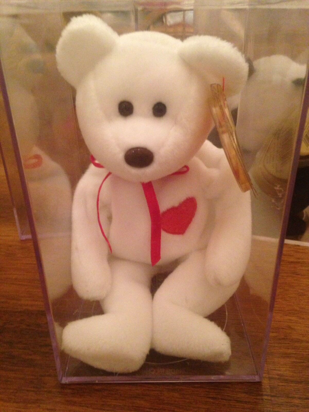 Beanie babies rare mint condition Valentino multiple Tag errors