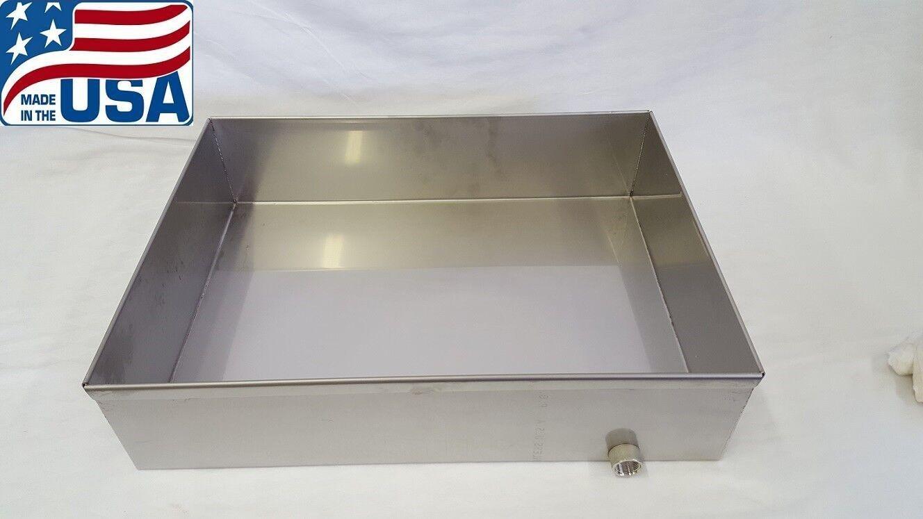 Premium jarabe de arce ebullición Sartén 18x24x6 Acero Inoxidable evaporador de SAP 18 Ga