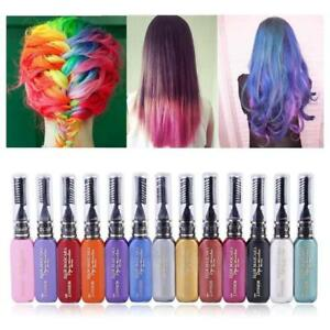Hot-Cosmetic-Temporary-Hair-Dye-Mascara-Hair-Chalk-Non-toxic-Hair-Dye-Salon-DIY