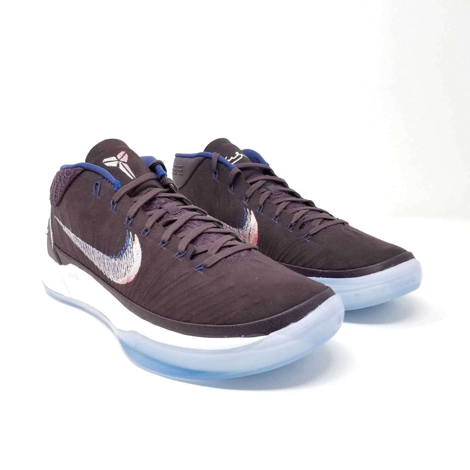 Nike Mens Air Kobe Bryant A.D. Port Wine Mamba 922482-602 AD Purple White blueee
