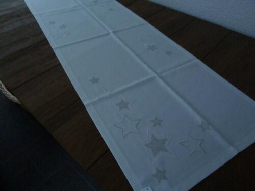 Sander Tischdecken Weihnachten HAPPY STARS in 2 Grundfarben bitte auswählen