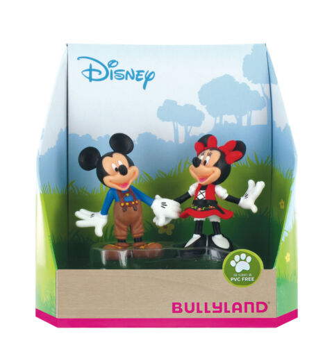 Full Range to Collect! Official Bullyland Micky Mouse Toy Figurines Models