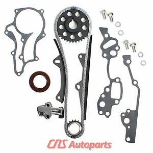 85 95 2 4l Toyota 22re Hd Timing Chain Kit W 2 Heavy