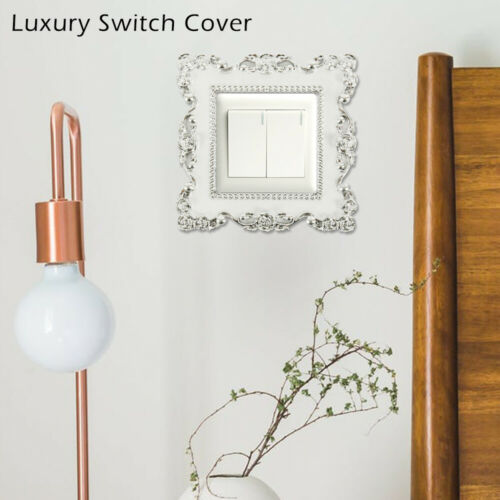 Decorative Light Switch Surround Socket Panel Cover Decorations Wall Stickers