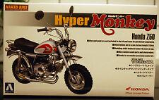1973 Honda Hyper Monkey Z 50 J 1 Takegawa, 1:12, Aoshima 045589