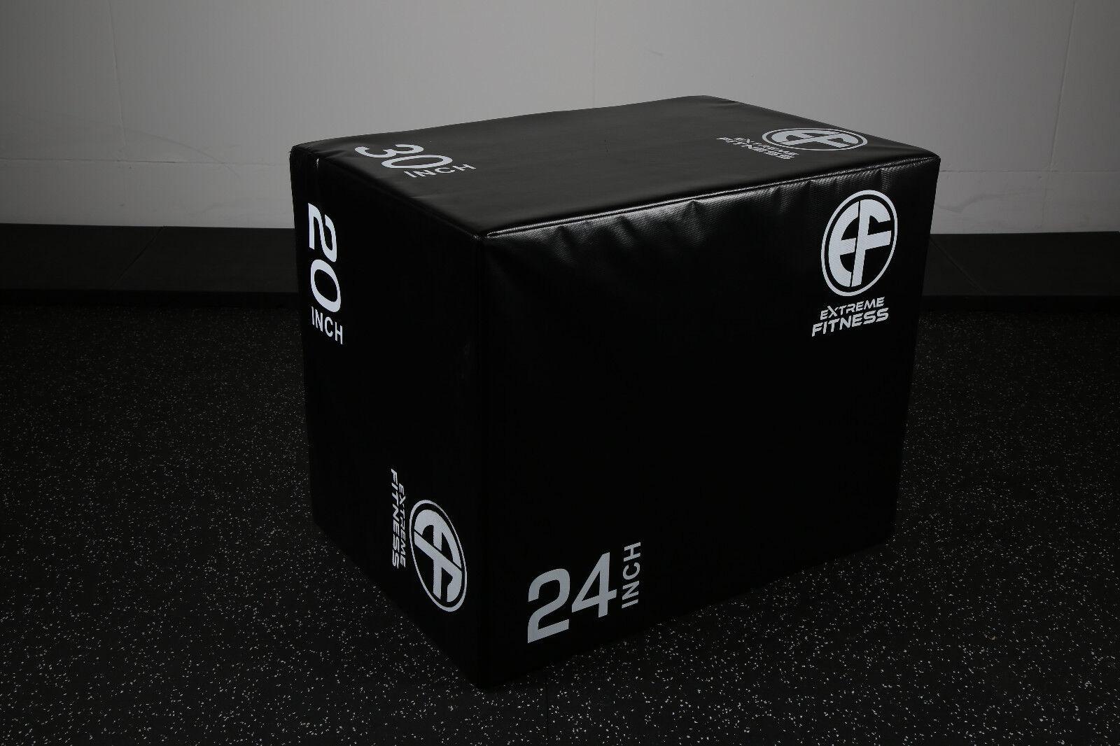 Soft Plyo Box Plyometric Jump  Squat Box Cross Fit Stepper 3 in 1  online discount