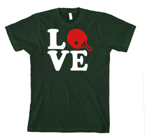 PING PONG LOVE SPORT Unisex Adult T-Shirt Tee Top