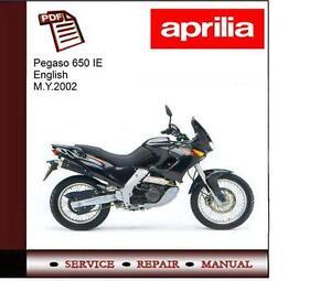 aprilia pegaso 650 ie workshop repair service manual ebay rh ebay co uk aprilia pegaso repair manual aprilia pegaso repair manual