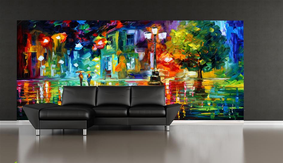 3D Straße Malerei 019 Fototapeten Wandbild Fototapete Bild Tapete Familie Kinder