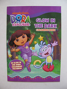 Glow In The Dark Colouring Book