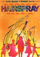Hairspray SIGNED DVD COVER ONLY NO DVD John Travolta Zac Efron Nikki Blonsky COA