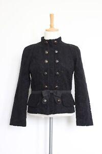Women's Jacquard Zip By Size S Black 8 Jacobs 36 Marc Jacket RrSp5RWxqw