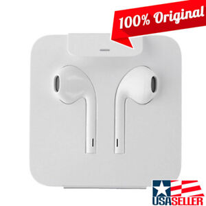 Original Apple Iphone X 7 8 Plus Genuine Earpods Headset W