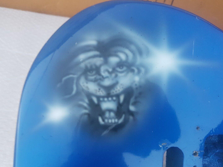 80's Blau GRAPHIC STRT BODY