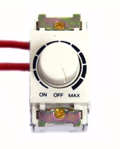10x éclairage lumière contrôle dimmer DC-306 On-Off Switch AC100V-120V 800 W Taiwan