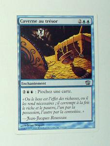 Carte Au Tresor Magic.Details Sur Carte Mtg Magic Version Francaise Caverne Au Tresor
