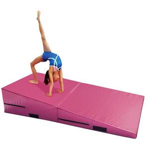 gymnastics purple mats wedge com incline mat