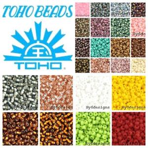 Toho-Japan-Seed-Beads-16-Grams-Tube-Choose-Color-Jewelry-Loose-Tiny-Glass-11-0
