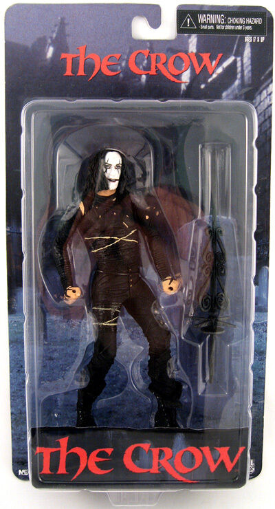 The Crow Eric Draven Cult Classics Action Figure NECA NIB 2009 Brandon Lee Rare