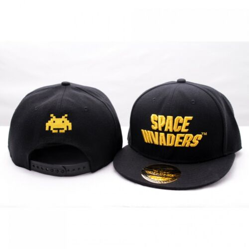 Space Invaders Golden Logo Retro Game Baseball Hip Hop Cap Kappe Mütze Snapback