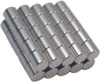 50 Neodymium Magnets 1/8 X 1/8 Inch Cylinder N48