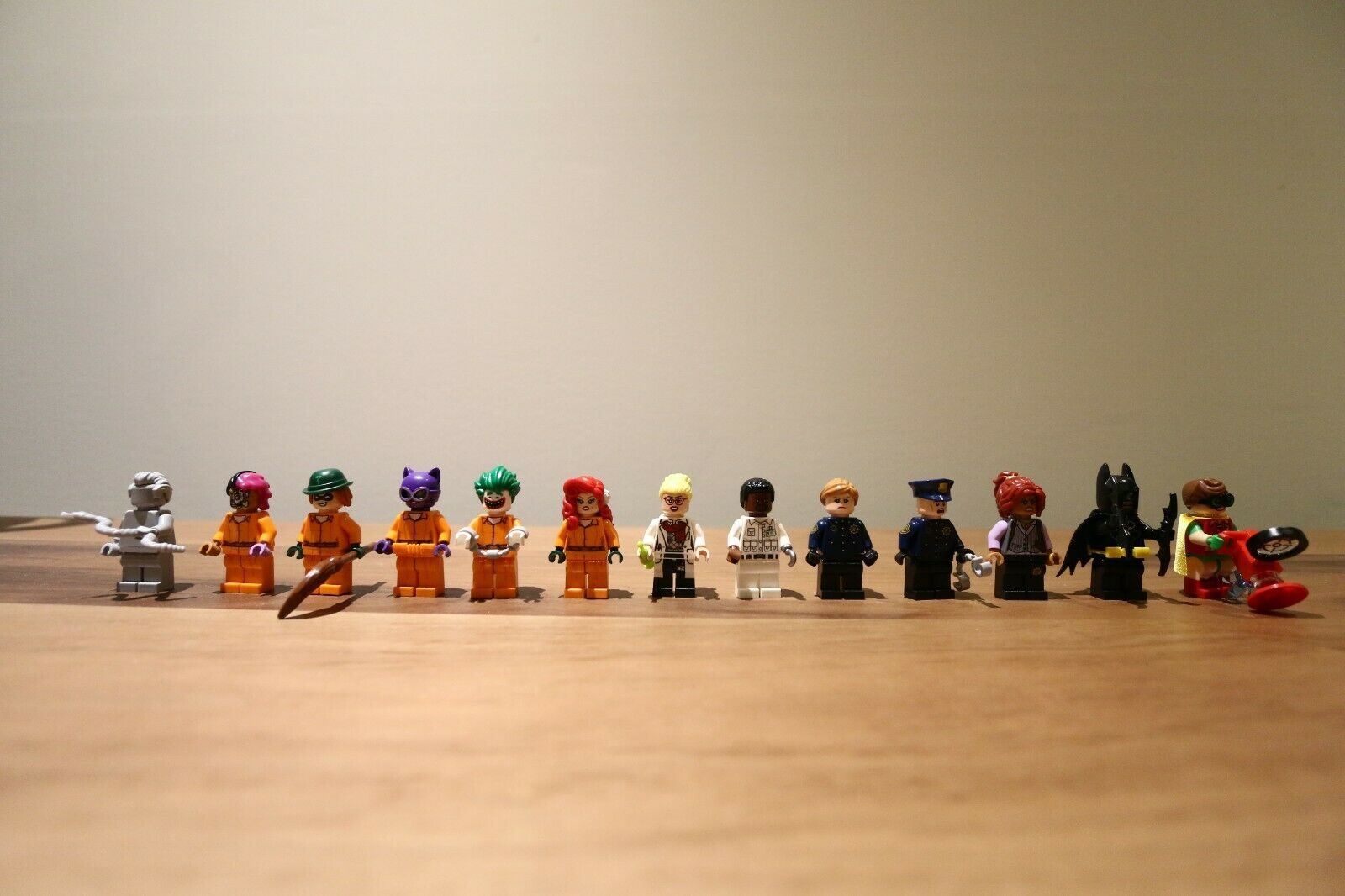 vendita online Lego batuomo movie 13 minicifras 70912 Arkham Arkham Arkham Asylum Barbara gordon prison suit  sconti e altro