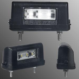 Kennzeichenbeleuchtung Kennzeichenleuchte LED-Nummernschildleuchte 12//24 Volt