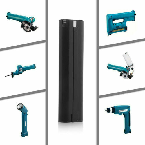 2Pc For MAKITA 9.6Volt NiCD 3.5Ah 9000 9001 9033 632007 Tool Battery Stick Style