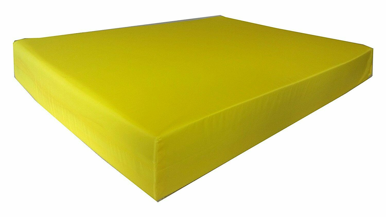 KosiPad Deluxe Gym Landing Crash Mat, Play,Nursery,Training Safe, Large Yellow