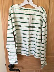 NWT Gymboree Autumn Tee Shirt Top Girls Long sleeve Cream 4,5//6,7//8,10//12,14