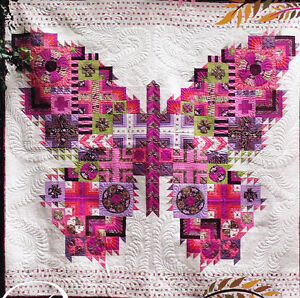 The Butterfly Quilt Gorgeous Pieced Quilt Pattern Tula Pink Ebay
