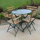 5 Piece Outdoor Patio Furniture Set Table & Chair - New