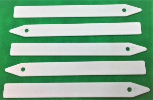 "PLASTIC PLANT LABELS POT STICKS LABEL SEED TRAY MARKER 12.5CM PACK OF 150 5"""