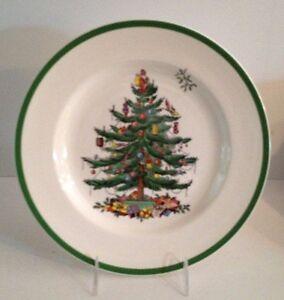 Image is loading Spode-Christmas-Tree-Dinner-Plate-S3324-I-10- & Spode Christmas Tree Dinner Plate S3324-I - 10 1/2