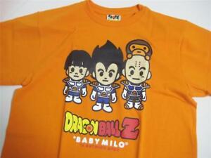 f71bd162 A BATHING APE BAPE DRAGON BALL Z TEE #3 vegeta orange Medium brand ...