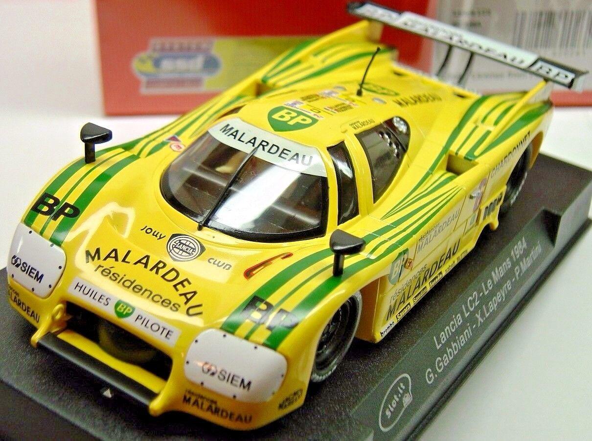 Slot it sica 08 A Lancia LC2 Le Mans 1984  6 Nouveau 1 32 Slot Car in Display