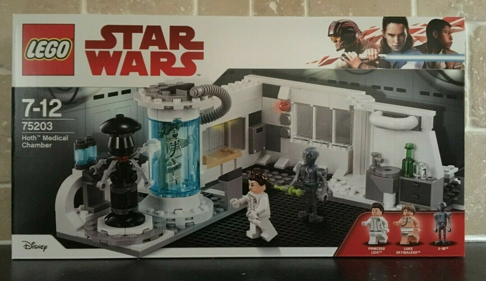 LEGO STAR WARS - 75203 Hoth Medical Chamber Brand New In Sealed Box